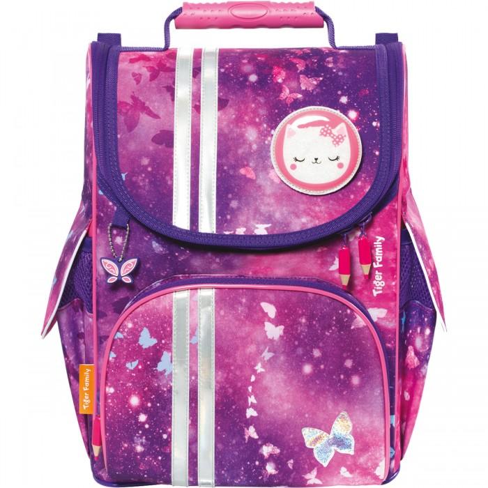 Школьные рюкзаки Tiger Enterprise Ранец школьный Nature Quest Glittery Night анатомическая спинка