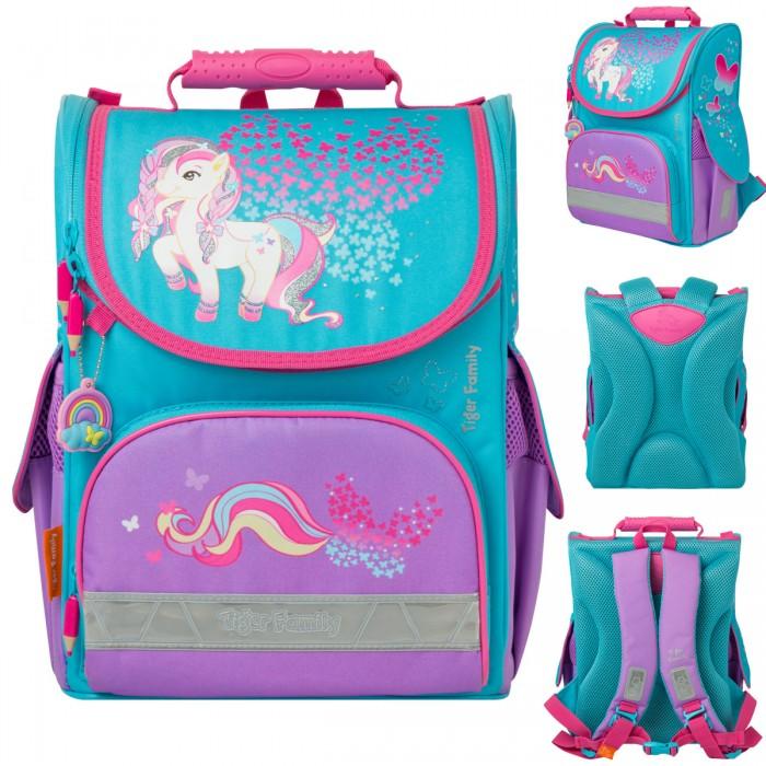 Школьные рюкзаки Tiger Enterprise Ранец школьный Nature Quest Little Charlotte анатомическая спинка