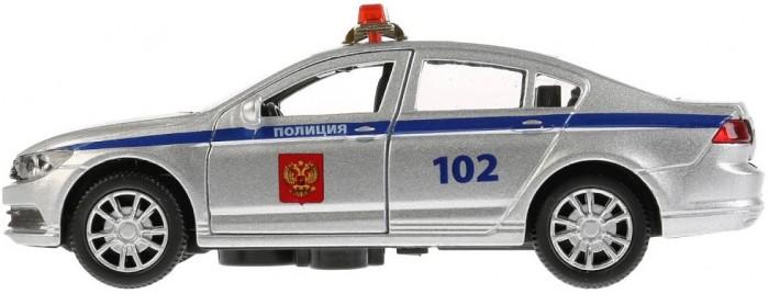 Купить Машины, Технопарк Машина металлическая со светом и звуком Полиция 12 см