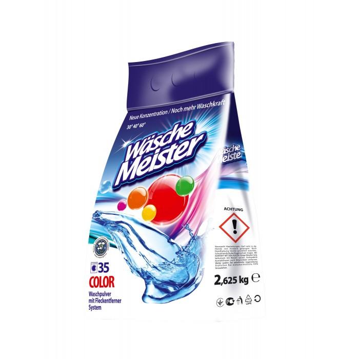 Бытовая химия Clovin Стиральный порошок WascheMeister Color 2625 г