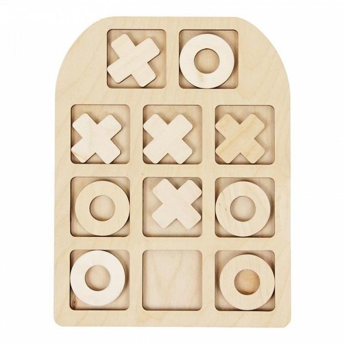 Фото - Деревянные игрушки Фабрика Мастер игрушек Крестики нолики деревянные игрушки фабрика мастер игрушек пазл жираф ig0063