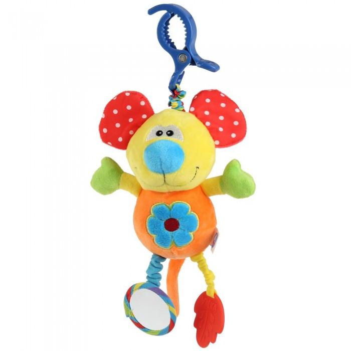 Купить Подвесные игрушки, Подвесная игрушка Умка с погремушками Солнечный мышонок