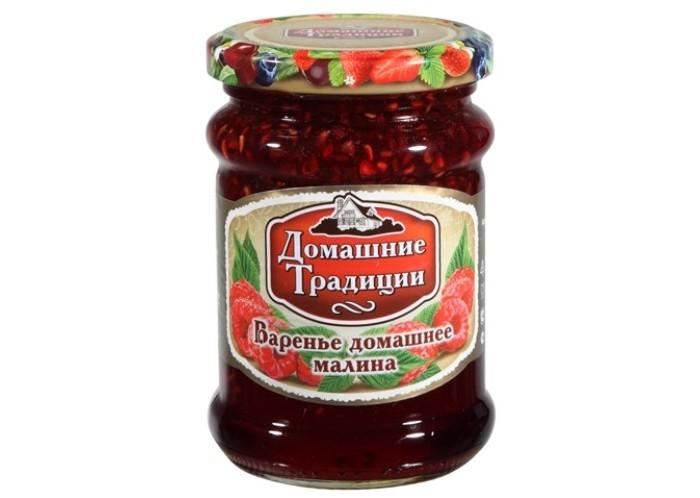 Мед, варенье, сиропы Домашие Традиции Варенье домашнее Малина 320 г