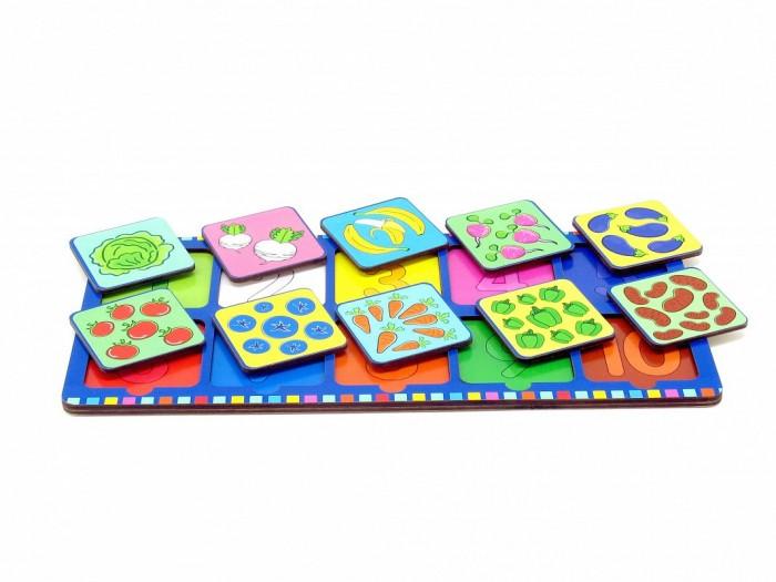 Фото - Деревянные игрушки Фабрика Мастер игрушек Рамка-вкладка Веселые цифры 2 деревянные игрушки фабрика мастер игрушек пазл жираф ig0063