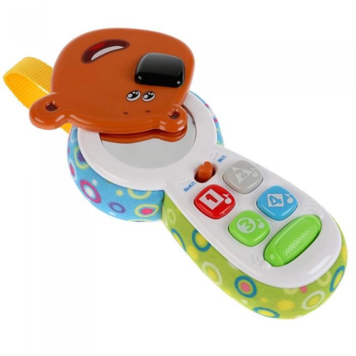 Картинка для Электронные игрушки Умка Обучающий телефон с зеркальцем