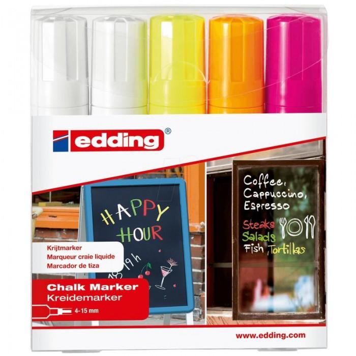 Edding Набор маркеров меловых E-4090 4-15 мм от Edding