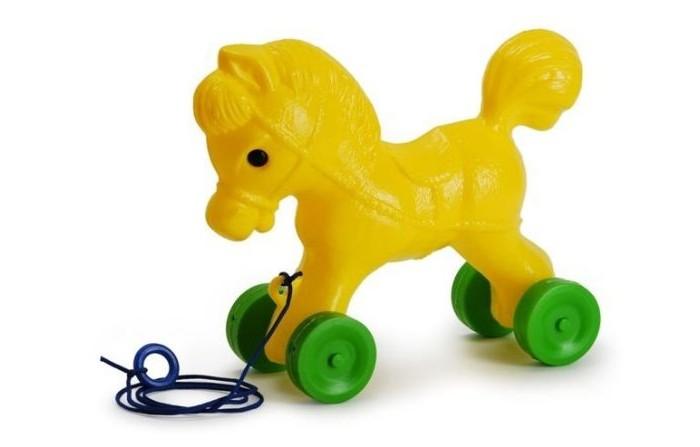 Каталки-игрушки Росигрушка Лошадка 25 см мягкие игрушки sonata style лошадка 28 см