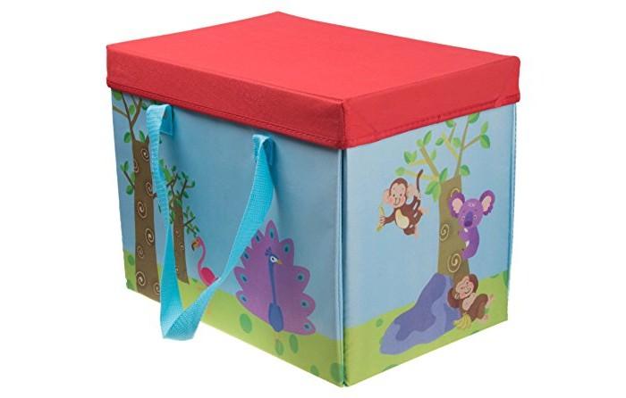 Наша Игрушка Корзина для игрушек Путешествие 35,5х23,5х27,5 см