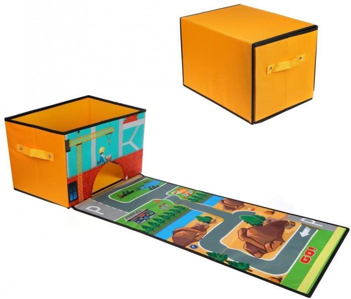 Фото - Ящики для игрушек Наша Игрушка Корзина для игрушек 38х25х25 см полесье набор игрушек для песочницы 468 цвет в ассортименте