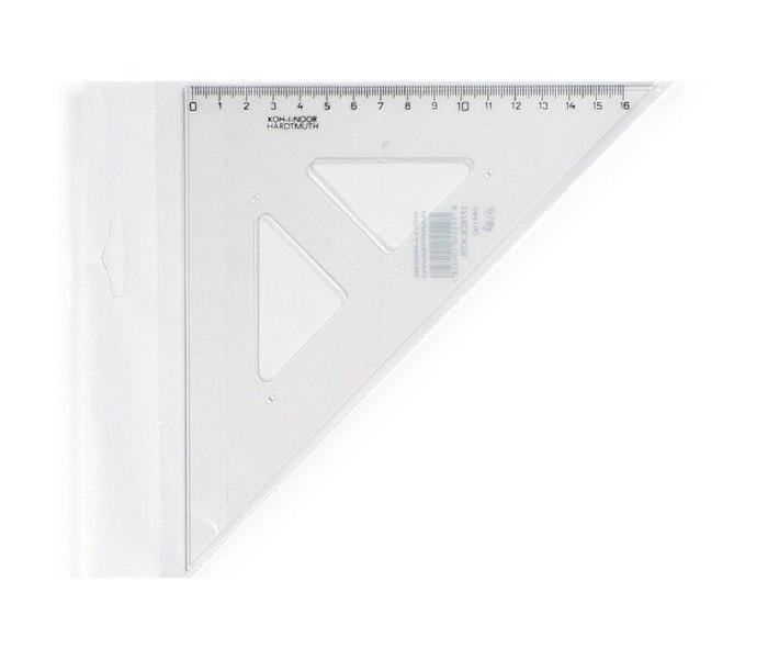 Канцелярия Koh-i-Noor Треугольник угол 45 градусов 177 мм