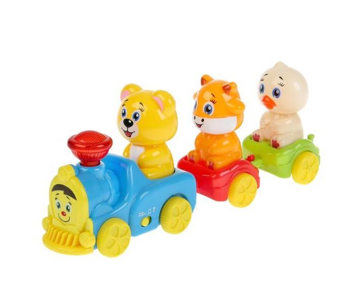 Купить Электронные игрушки, Умка Развивающая игрушка Музыкальный поезд