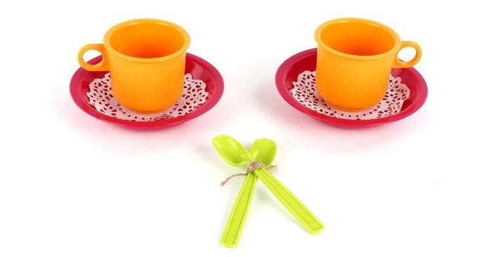 Ролевые игры Росигрушка Набор посуды Чайная пара Розе русский инструмент