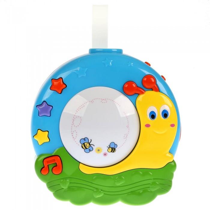 Картинка для Подвесные игрушки Умка Музыкальный ночник с проектором Улитка