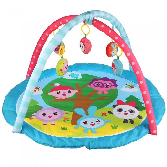 Развивающие коврики Умка Детский игровой Малышарики коврик детский умка прямоугольный с дугой для новорожденных веселые открытия в пак в кор 12шт