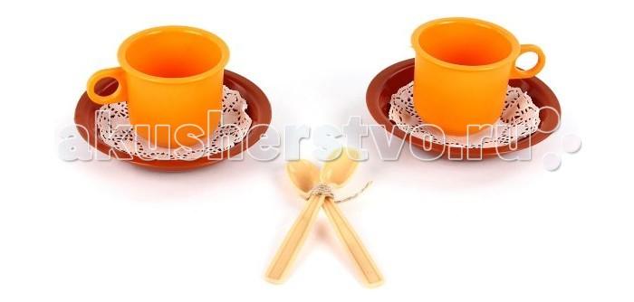 Ролевые игры Росигрушка Набор посуды Чайная пара Ириска weleda антицеллюлитный набор идеальная пара 1 шт