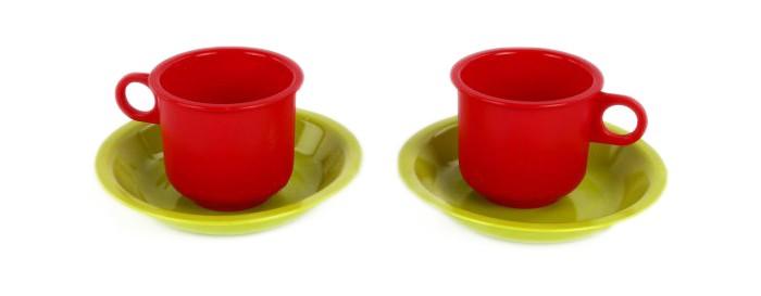 Ролевые игры Росигрушка Набор посуды Кружки-подружки