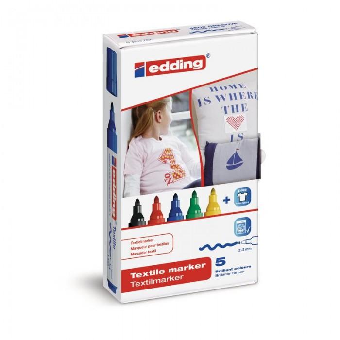 Edding Набор маркеров по ткани E-4500 2-3 мм