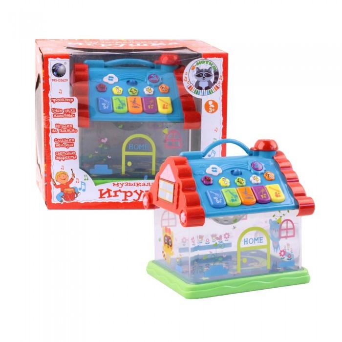 Купить Развивающие игрушки, Развивающая игрушка Zhorya Домик Е-нотка