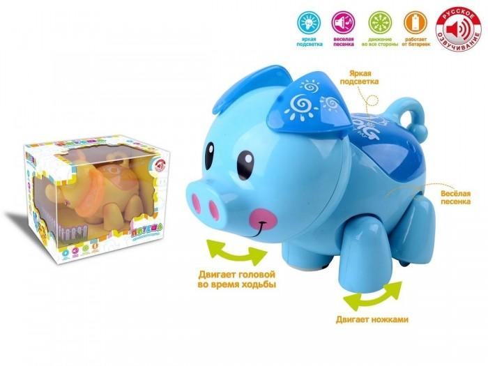 Развивающая игрушка Zhorya Музыкальная зверушка-непоседа фото