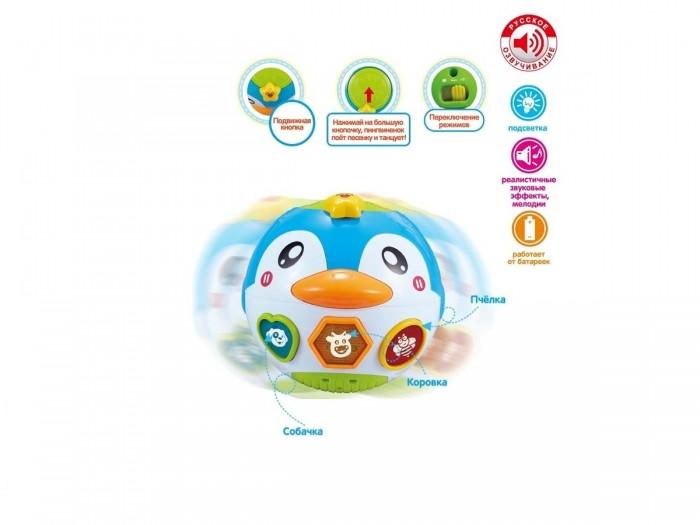 Фото - Развивающие игрушки Zhorya Танцующий пингвиненок развивающие игрушки zhorya музыкальный жираф