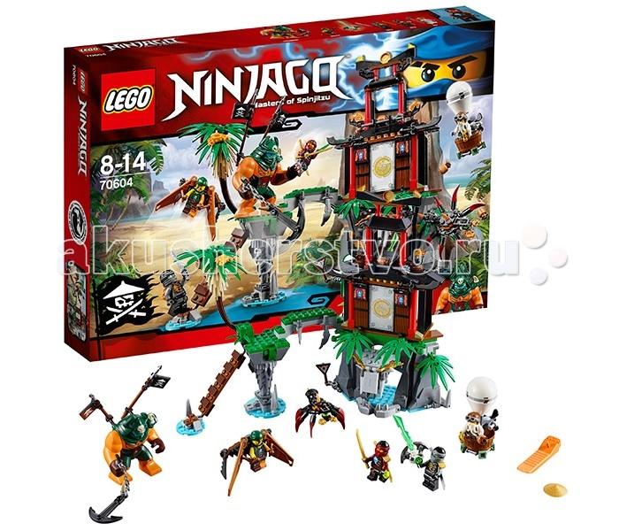 Lego Lego Ninjago 70604 Лего Ниндзяго Остров тигриных вдов коутс а клуб юных вдов