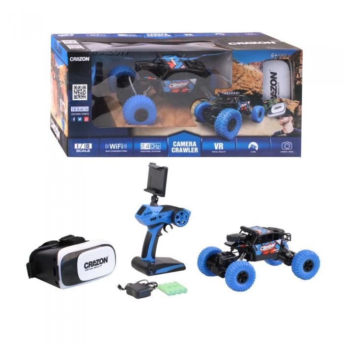 Crazon Краулер радиоуправляемый с WiFi камерой и очками виртуальной реальности 1:18