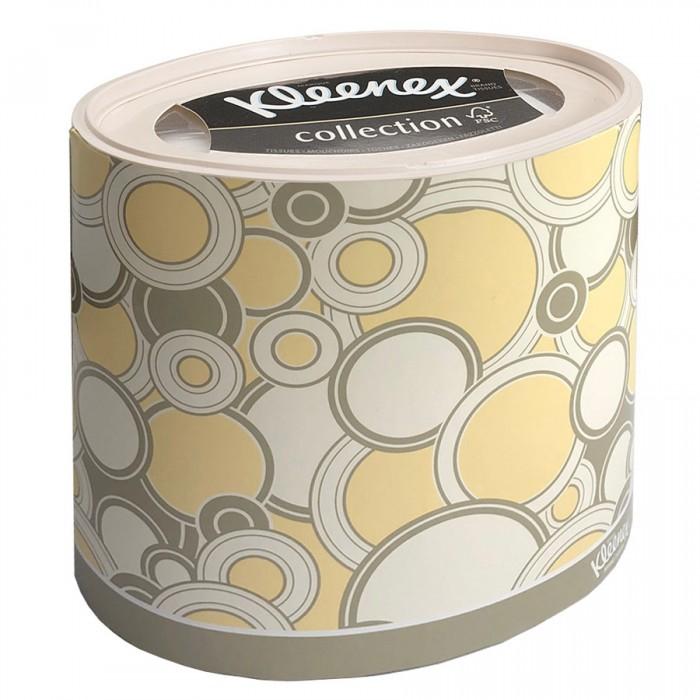салфетки Салфетки Kleenex Бумажные салфетки для лица Желтые круги 64 шт.