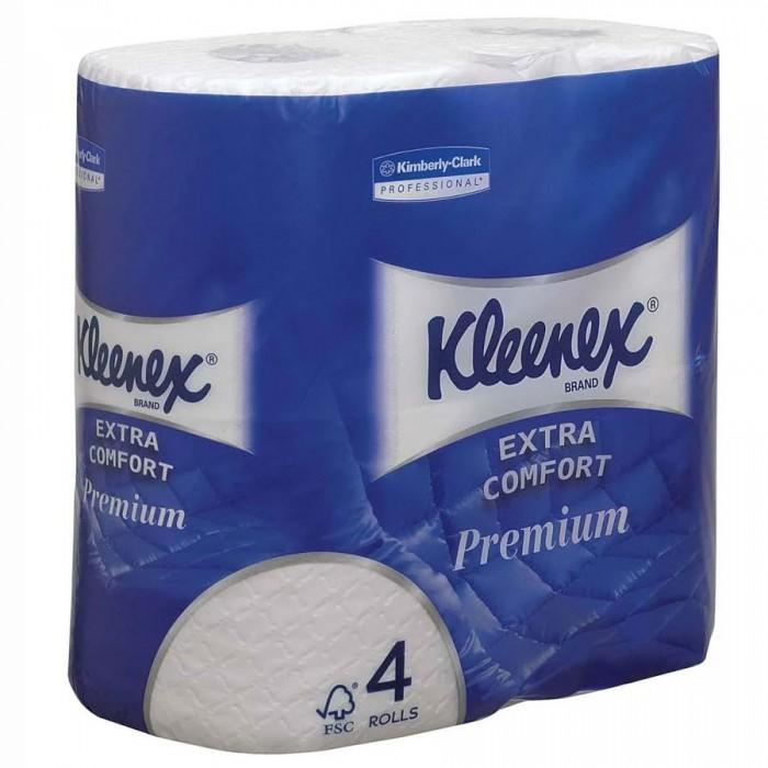 Хозяйственные товары Kleenex Туалетная бумага Premium 4 шт.