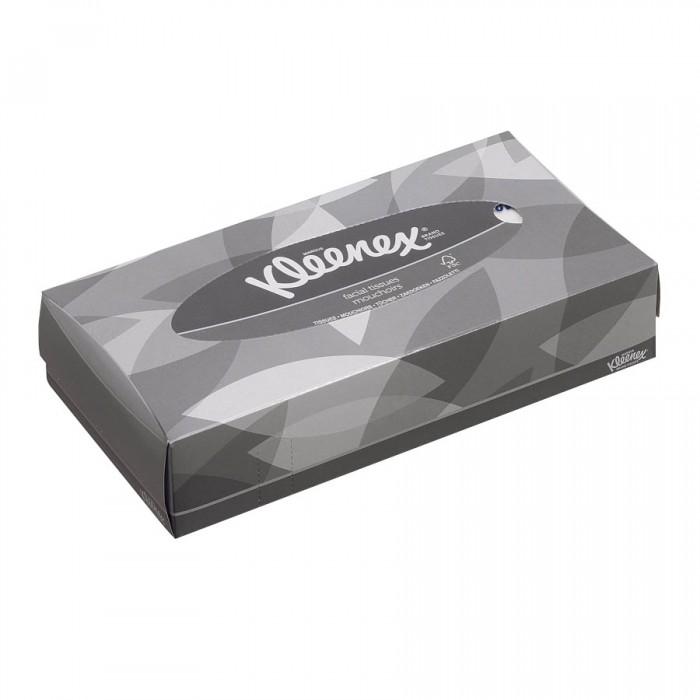 Салфетки Kleenex Бумажные салфетки для лица 100 шт. kleenex салфетки kleenex collection 100 штук