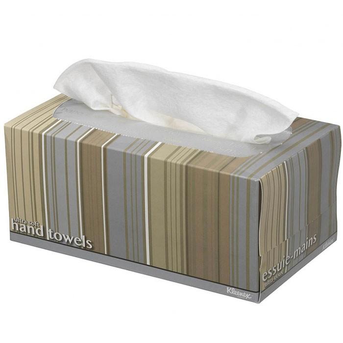 Хозяйственные товары Kleenex Бумажные полотенца для рук Ultra Soft Pop-Up 70 шт. полотенца томдом дженди