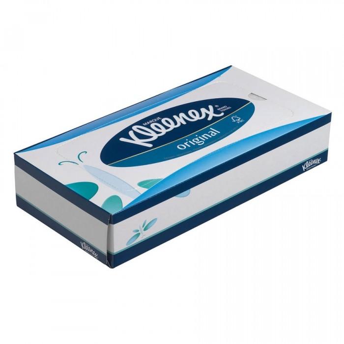 Салфетки Kleenex Бумажные салфетки для лица 72 шт. салфетки бумажные world cart товары для дома белый
