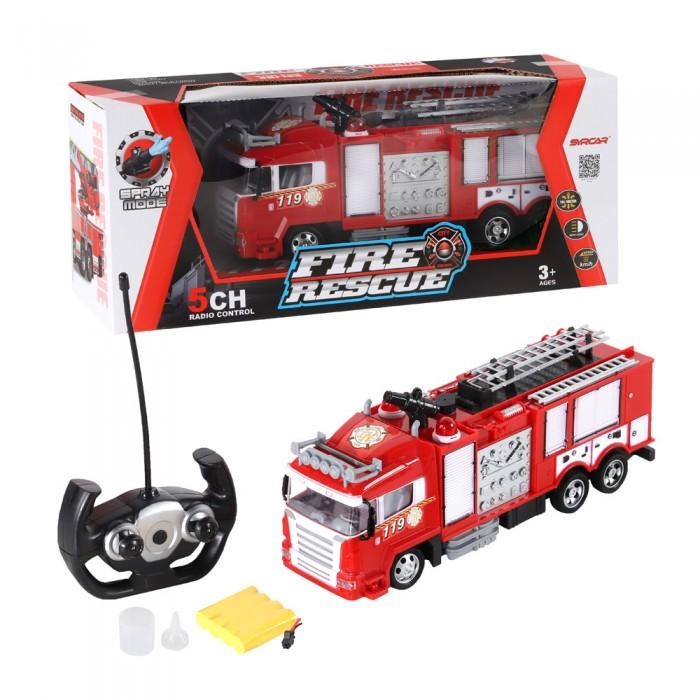 SY cars Пожарная машинка радиоуправляемая 1100075