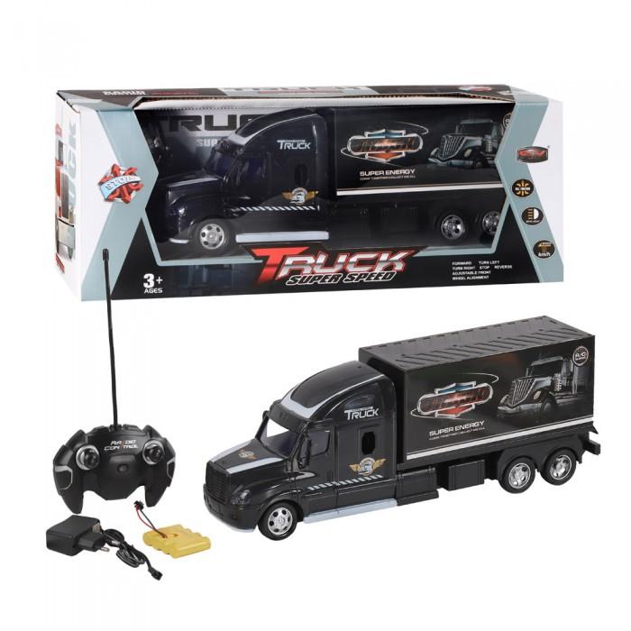 Купить Радиоуправляемые игрушки, Джамбо Машина радиоуправляемая фура-контейнеровоз