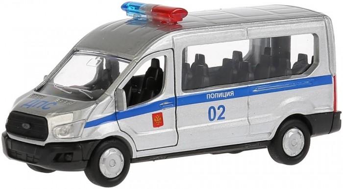 Картинка для Машины Технопарк Машина металлическая инерционная Ford Transit Полиция 12 см