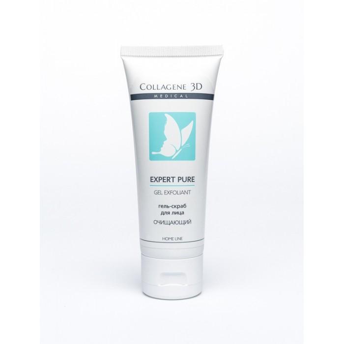 Косметика для мамы Medical Collagene 3D Гель-скраб для лица от черных точек Expert Pure Gel Exfoliant 75 мл гель скраб для лица gel exfoliant doux visage 75мл