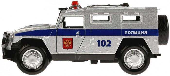 Технопарк Машина металлическая Бронемашина Полиция 12 см
