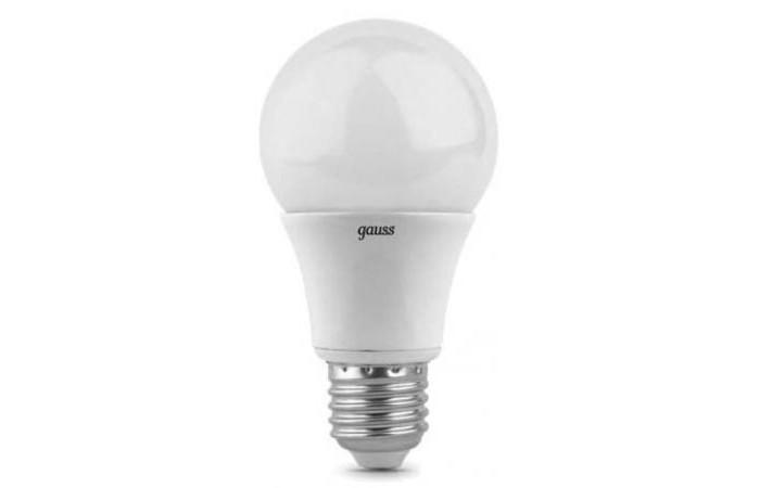 Светильники Gauss Лампа LED A60 E27 7W 710lm 4100K gauss led a60 e27 7w 4100k 1 10 40
