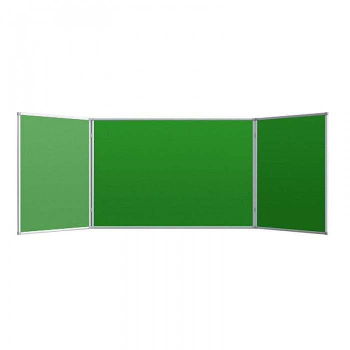 Доски и мольберты Attache Доска 2-створчатая магнитно-маркерная меловая 100х300 см