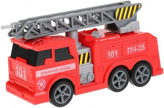 Купить Машины, Технопарк Пожарная машина со светом и звуком 17 см