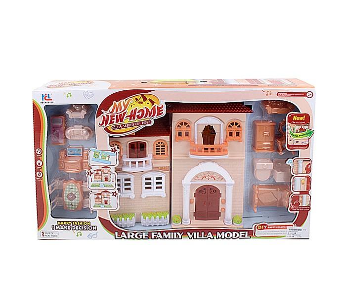Джамбо Дом для кукол со светом и музыкой JB202086 фото