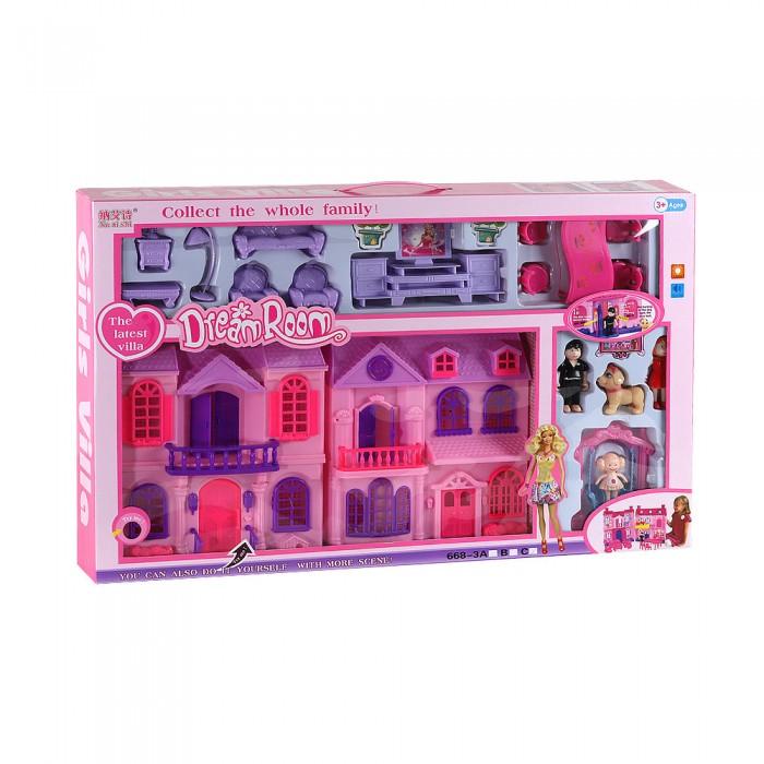 Кукольные домики и мебель Джамбо Дом для кукол JB202116