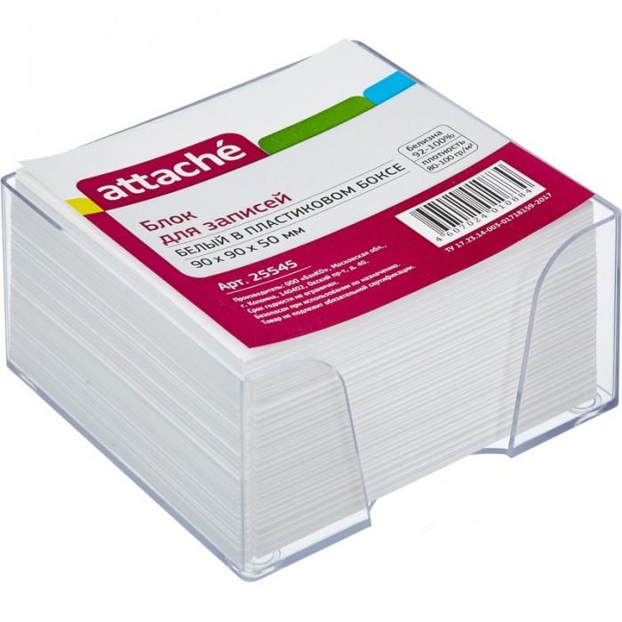 Канцелярия Attache Блок для записей в подставке 9х9х5 см