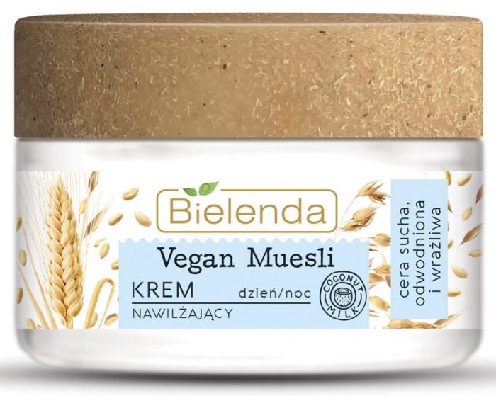 Фото - Косметика для мамы Bielenda Vegan Muesli Увлажняющий крем Пшеница + Овёс + Кокосовое молоко 50 мл bielenda bikini кокосовое