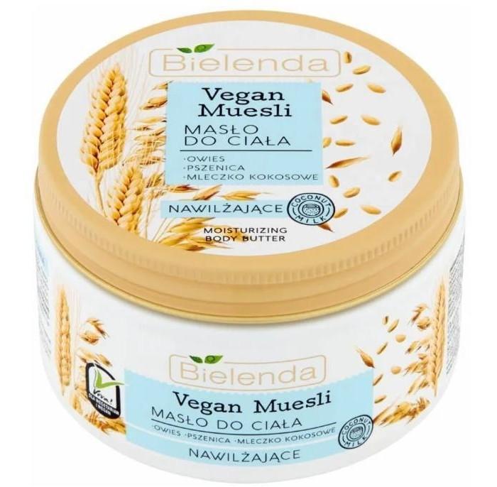 Фото - Косметика для мамы Bielenda Vegan Muesli Увлажняющее масло для тела Пшеница + Овёс + Кокосовое молоко 250 мл bielenda bikini кокосовое