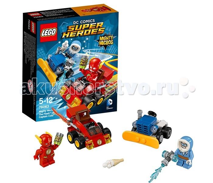 Lego Super Heroes 76063 Лего Супер Герои Флэш против Капитана Холода lego lego super heroes флэш против капитана холода