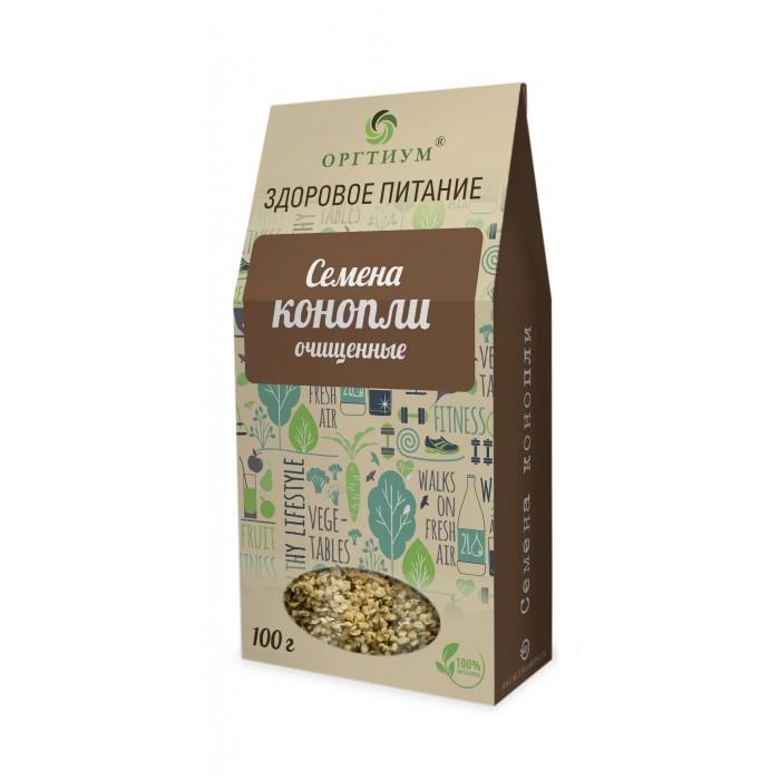 Правильное питание Оргтиум Семена конопли очищенные 100 г алтэя семечки конопли алтайские хрустящие 100 г