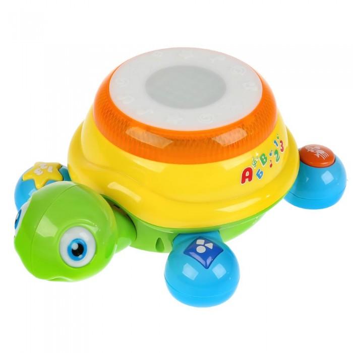 Купить Электронные игрушки, Умка Обучающая Черепашка-каталка