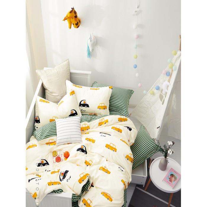 Купить Постельное белье 1.5-спальное, Постельное белье Dream Time BLK-46-SP-459-1C (3 предмета)