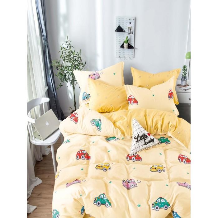 Купить Постельное белье 1.5-спальное, Постельное белье Dream Time BLK-46-SP-460-1C (3 предмета)