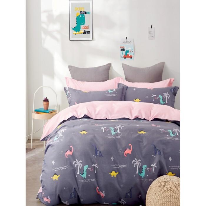 Купить Постельное белье 1.5-спальное, Постельное белье Dream Time BLK-46-SP-463-1C (3 предмета)